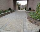 New entrance walkway